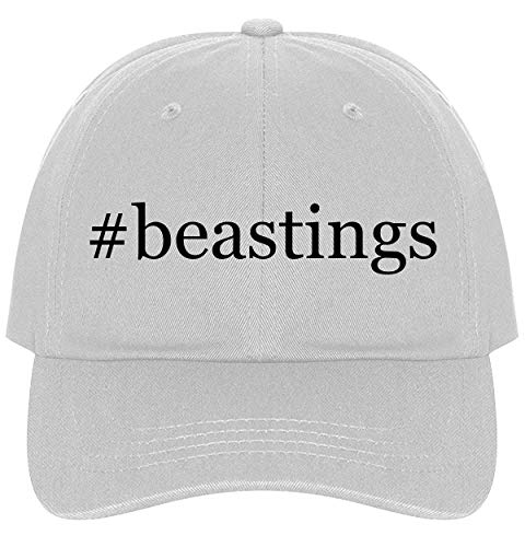 The Town Butler #Beastings - A Nice Comfortable Adjustable Hashtag Dad Hat Cap, White, One -