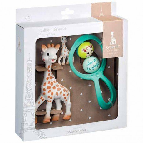 - First Age Birth Set Sophie the Giraffe