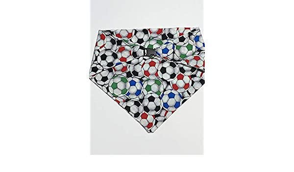 Amazon.com: Soccer Balls Dog Bandana (Medium): Handmade