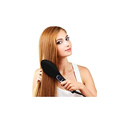 Mamzelle O Brushture - Cepillo alisador electrico que evita el encrespamiento, 39 W, color