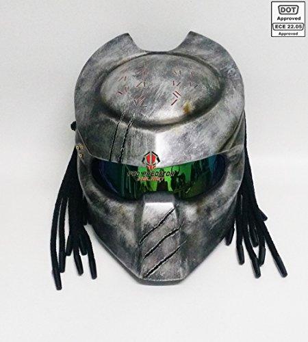 Alien Motorcycle Helmet - 7