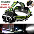 HP95® 8000LM 2X XM-L T6 LED Rechargeable 18650 USB Headlamp Headlight Head Light Torch