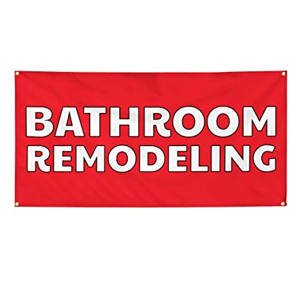 Open During Remodeling Business 13 Oz Vinyl Banner Sign With Grommets