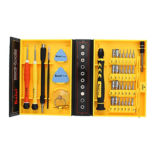 Price comparison product image 'Kaisi 38 in 1 Screwdriver Set Multifunctional Phone Opening Repair Tool Suitable for iPhone/Phone '