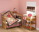 Sarafina 5 Piece Baby Crib Bedding Set by Beansprout by Pem America