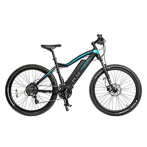 "Magnum Peak Premium Electric Mountain Bike - 500-700W Motor - Large Capacity 48V13A Lithium Battery - 27.5"" Wheels - Ebikes for Adults - Black"
