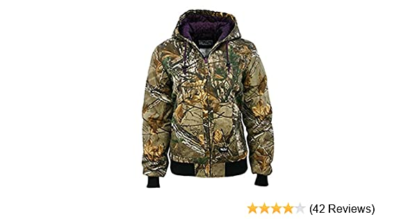 01cc521a4704 Amazon.com  Walls Women s Ladies Insulated Hooded Jacket  Sports   Outdoors