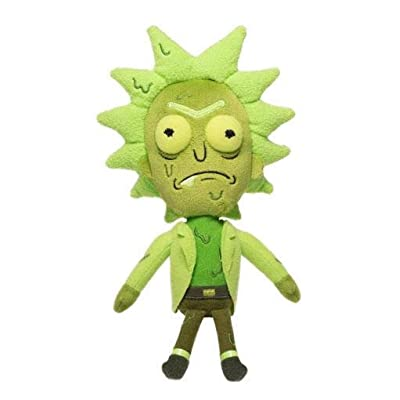 Funko Galactic Plushies: Rick and Morty Rick Collectible Figure, Multicolor: Toys & Games