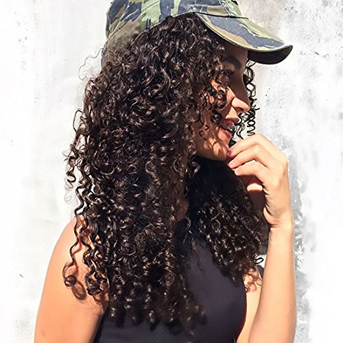 y Extensions Jerry Curly Clip ins Double Weft Unprocessed Virgin Human hair For Black Women Top Quality Natural Black 7pieces/set (90g 12
