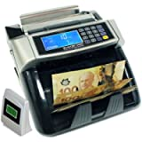 Polymer and Paper Canadian CAD USD Currency Bill Counter Plastic Money Banknote, Full Numeric Keypad and Large LCD…