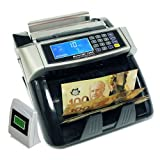 Polymer and Paper Canadian CAD USD Currency Bill Counter Plastic Money Banknote