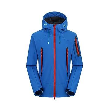 Ynport Crefreak Softshell Jacket Hombre Trekking de esquí Impermeable Chaqueta de Lluvia Ropa de Excursionismo al Aire Libre Masculino a Prueba de Viento ...