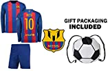 Best Soccer Jerseys - Fan Kitbag Lionel Messi #10 Barcelona Long Sleeve Review
