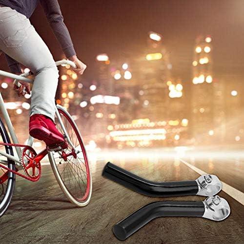 1pair Bicycle Handlebar Ends Aluminium Alloy Bike Handle Bar Grips Plugs CaFBBP