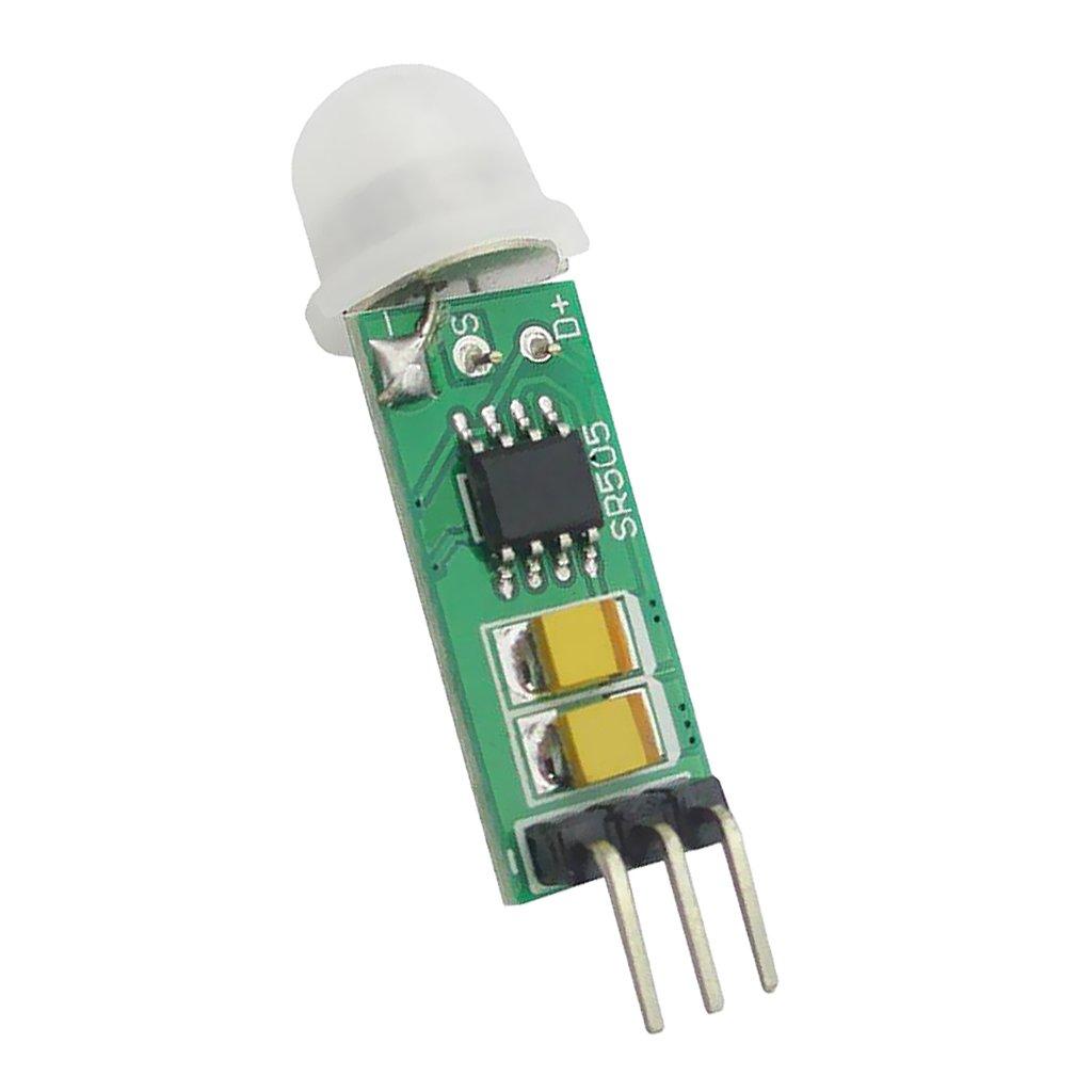 MagiDeal HC-SR505 Mini Detector Infrarrojo PIR Sensor de Detección Infrarrojo Preciso: Amazon.es: Bricolaje y herramientas