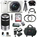 Sony Alpha a6000 Mirrorless Camera w/16-50mm & 55-210mm Lenses & 64GB Bundle