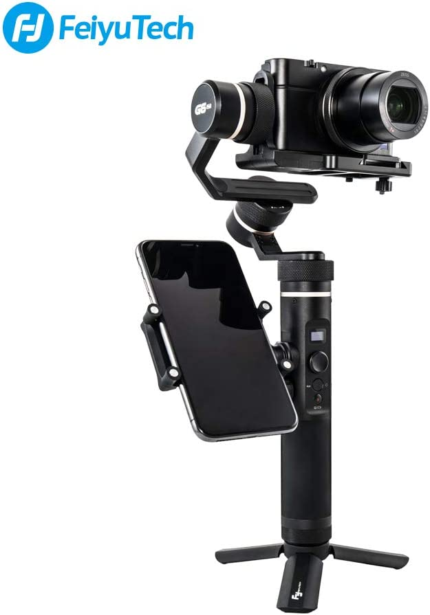 FeiyuTech Feiyu Side Smartphone Adapter Phone Holder Clamp for Feiyu G6 Plus//SPG2//G6 Handheld Gimbal Stabilizer Compatible with iPhone//Samsung and Other Smartphones