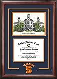 Syracuse University Alumni Mahogany Diploma Frame
