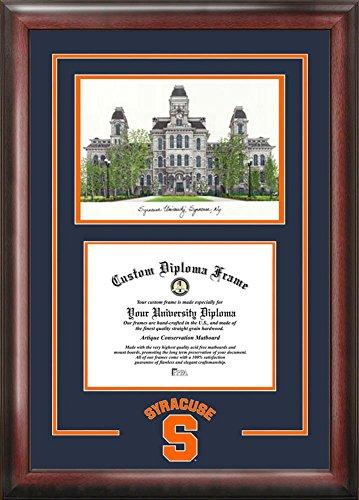Syracuse University Alumni Mahogany Diploma Frame by Landmark Publishing