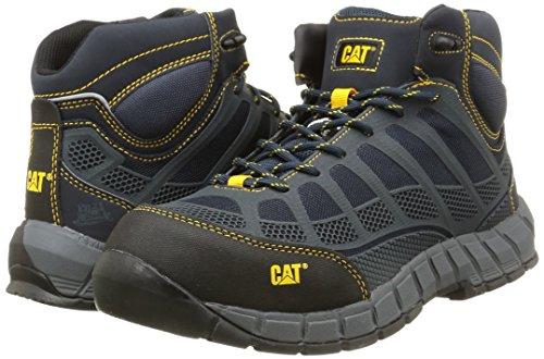 CaterpillarStreamline Mid Ct S1P Hro Src - botas de seguridad de caño bajo Hombre, Gris (Gris (Midnight)), 41: Amazon.es: Zapatos y complementos