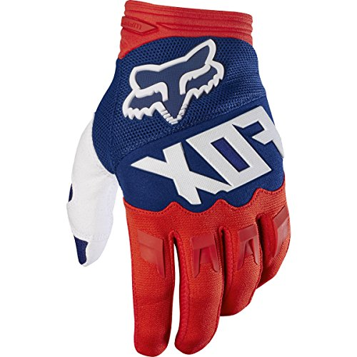 Fox Racing Dirtpaw Race Race Adult MotoX Motorcycle Gloves - Red/White/2X-Large
