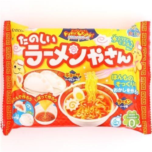 funny Ramen shop Gyoza Kracie Popin' Cookin' DIY candy