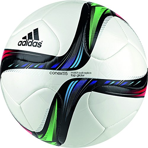 Adidas Conext15 Football, Size 5  White/Orange/Grey/Yellow