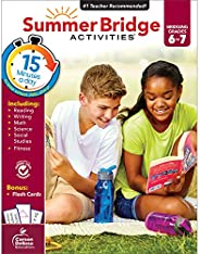 Summer Bridge Activities Workbook―Bridging Grades 6 to 7 in Just 15 Minutes a Day, Reading, Writing, Math, Sci