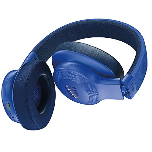 JBL 806046 E55BT Over-Ear Wireless Headphones Blue