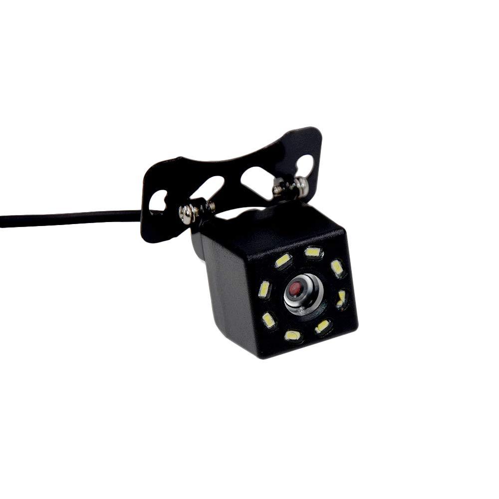 Universal 4 LED R/ückfahrkamera-R/ückfahrkamera Nachtsicht