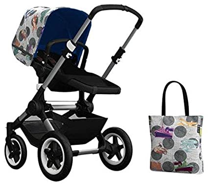 Bugaboo Buffalo Accessory Pack - Andy Warhol Transport/Royal Blue ...