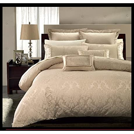 13 PC Luxury Queen Size Sara Bed In A Bag By Royal Hotel Collection