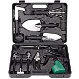 Best Gift Garden Gifts For A Men - BNCHI Gardening Tools Set,Portable 12 Pieces Stainless Steel Review