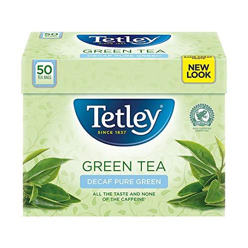 Decaf Tea Tetley (Tetley - Green Tea Decaf 50 Bags - 100g)