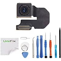 Unifix Back Rear Main Camera Replacement Part for iPhone...