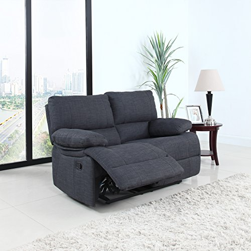 Classic Traditional Oversize Recliner Loveseat