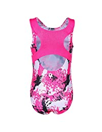 HUANQIUE Leotards for Girls Gymnastics Ballet Dance One-Piece