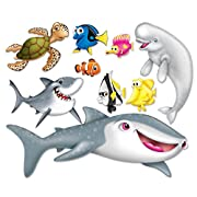 Beistle 52203, 9 Piece Under The Sea Props, 9.25  to 67