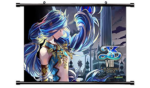 Ys VIII Lacrimosa of Dana Video game Wall Scroll Poster  Inc