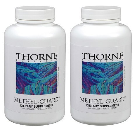 THORNE RESEARCH - Methyl-Guard (180 caps) Pack of Two! (Guard Research Thorne Methyl)