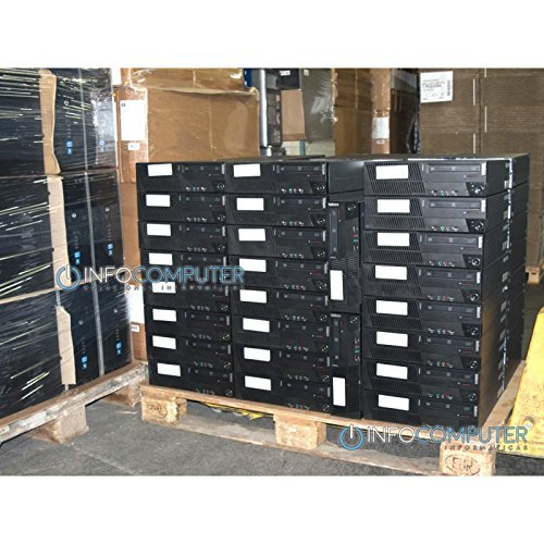 Lenovo M91 SFF - Ordenador de sobremesa (Intel Core i5-2400 QUAD, 4GB RAM, Disco HDD de 250GB, DVD, COA Windows 7 PRO)  Negro (Reacondicionado Certificado): ...