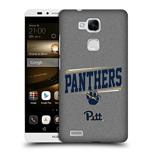 Official University Of Pittsburgh Double Bar Hard Back Case for Huawei Ascend Mate7