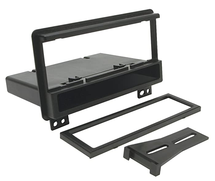 Scosche FD1422B Single DIN Installation Dash Kit for Select 2001-2006 Ford Vehicles