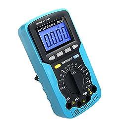 ALLOSUN Digital Multimeter Antorange DC AC Volt Ampt DMM