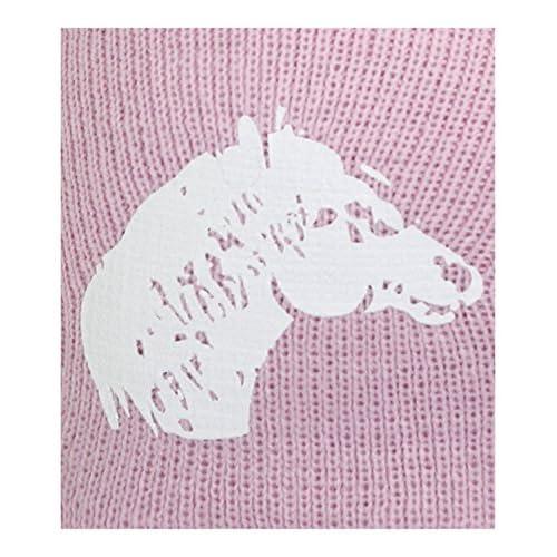 Fiebig Bonnet Tricoté Pour Bébé Fille En Tricot D Hiver Casquette Laine  Calotte Chapeau Avec 579614e7e5f
