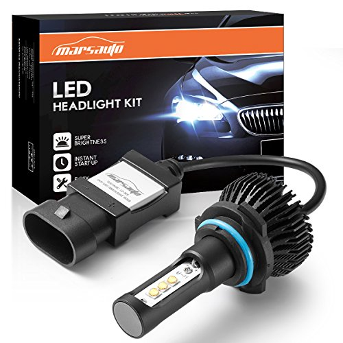 Marsauto-9005HB3-LED-High-Beam-Headlight-Bulbs-Conversion-Kit-Increase-Visibility-and-Safety-9145H10-Fog-Light-Bulbs-Xenon-White-6000K