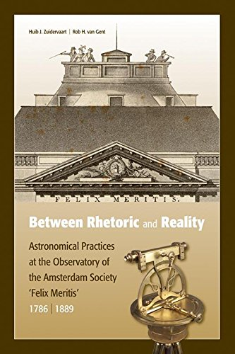 Between rhetoric and reality: instrumental practices at the astronomical observatory of the Amsterdam Society Felix Meritis, 1786-1889
