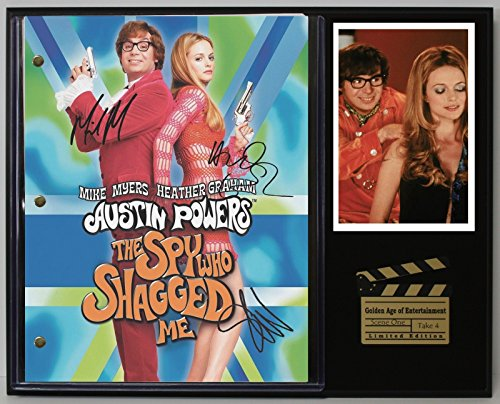 "Austin Powers The Spy Who Shagged Me Repro Movie Script Cinema Display ""C3"""