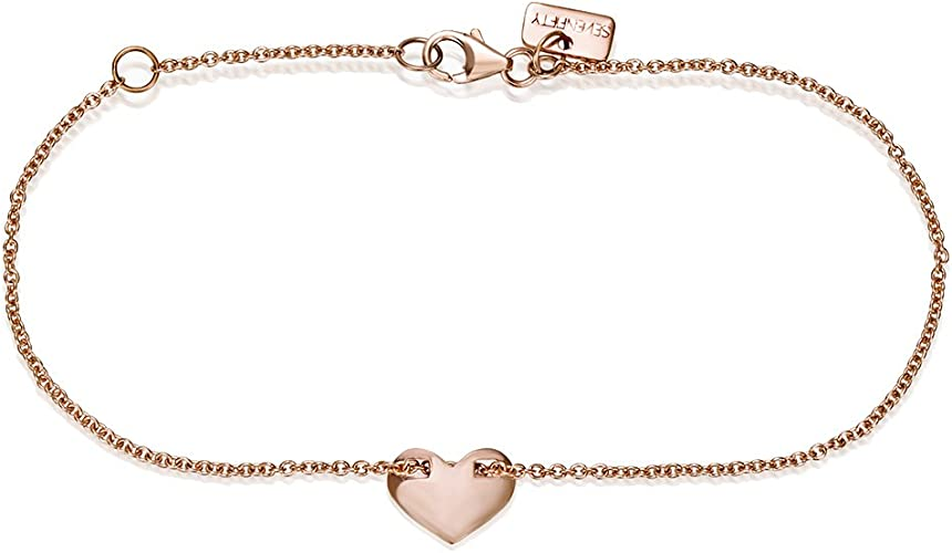 Rose gift Gold Dog necklace and earrings Set in 14K Solid Gold 14K Charm Gold Rose 9K Rose Charm Rose Necklace 14K