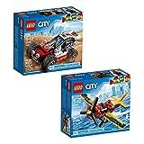 LEGO City Great Vehicles Building Kit Bundle (170 Piece)